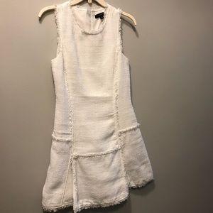 Banana Republic White Woven Dress